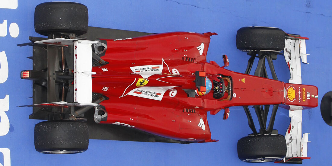 Ferrari F2012 Alonso GP Malaysia 2012