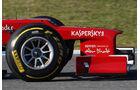 Ferrari F2012 Formel 1 Nase Jerez 2012