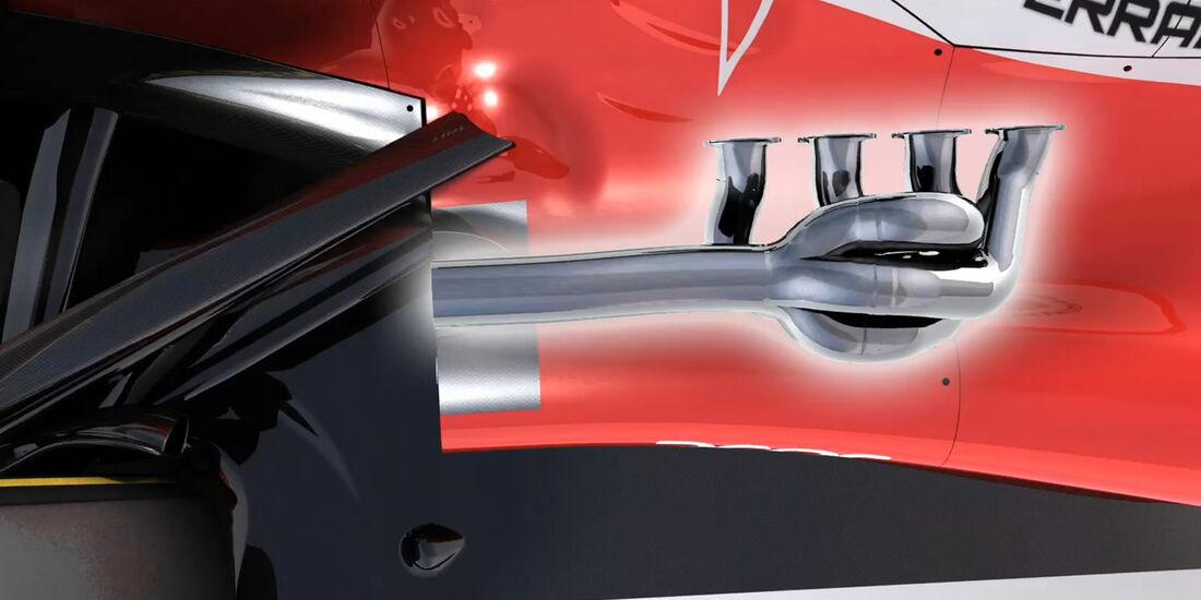 Ferrari F2012 Technik Video Piola Australien
