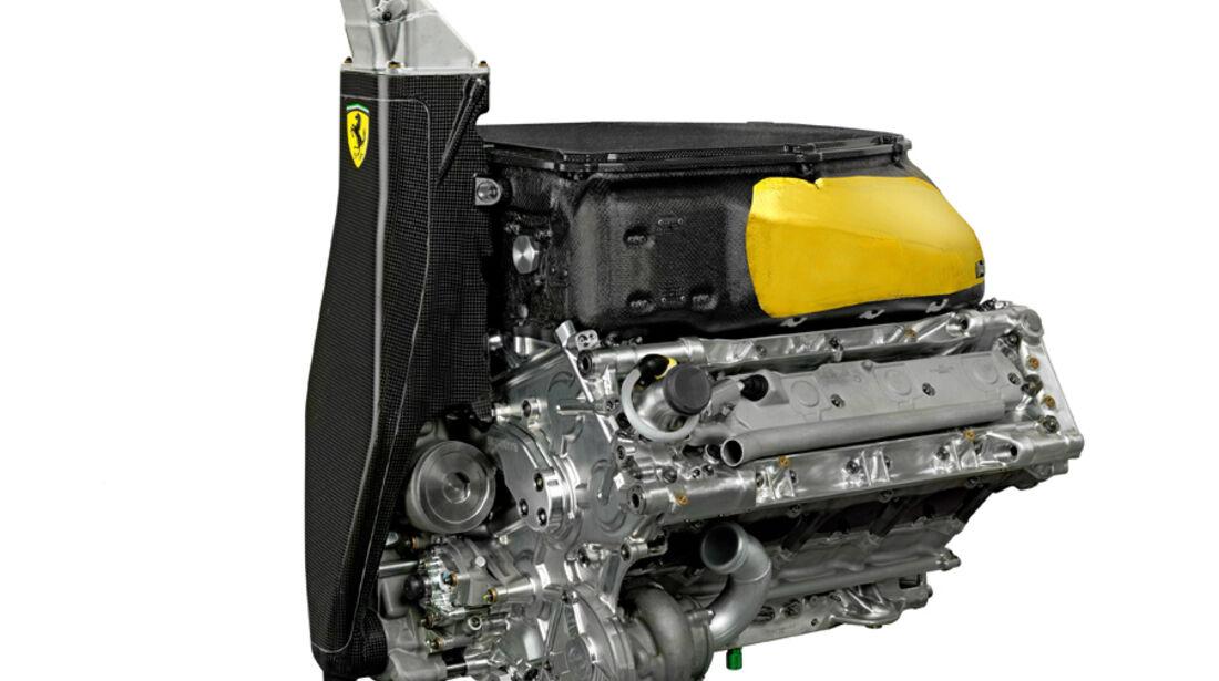 Ferrari F2012 V8 Motor