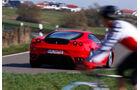 Ferrari F430, Heckansicht
