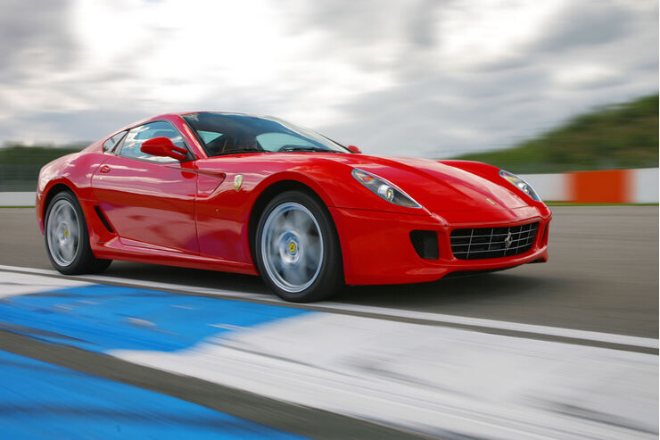 Ferrari 599 GTB Fiorano im Test auf der Nordschleife: Ferrari Gran ...