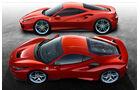 Ferrari F8 Tributo Vergleich 488 GTB