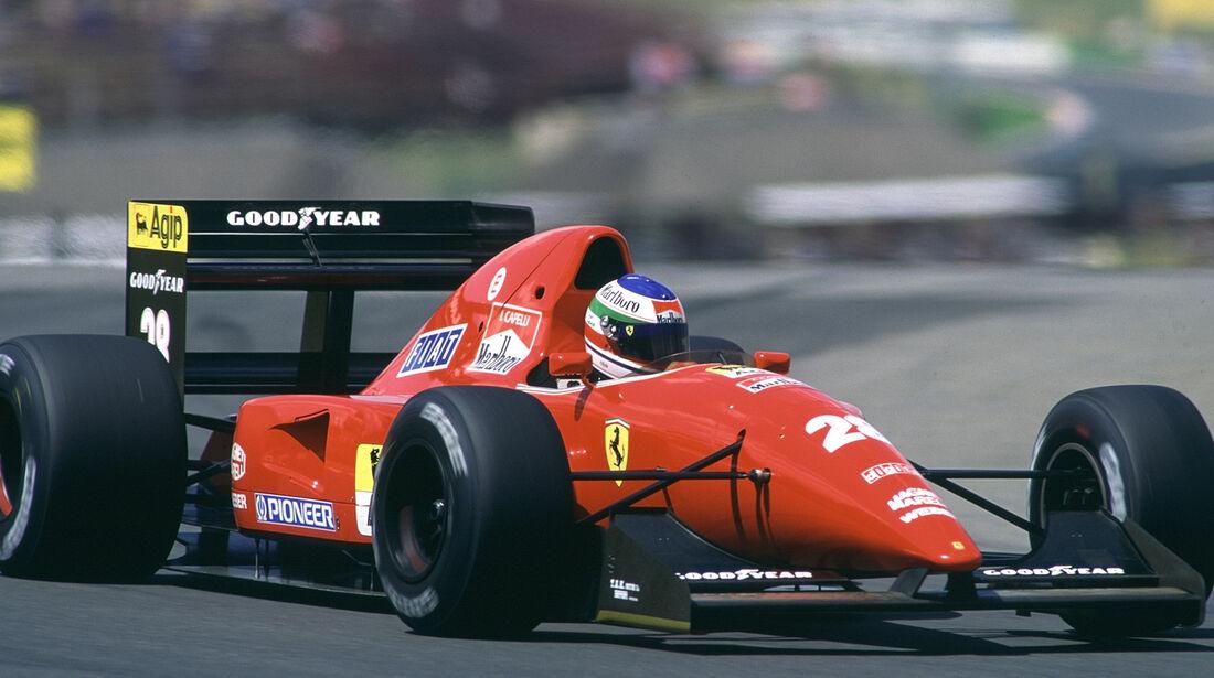 Ferrari F92A - Verrückte Formel 1-Ideen