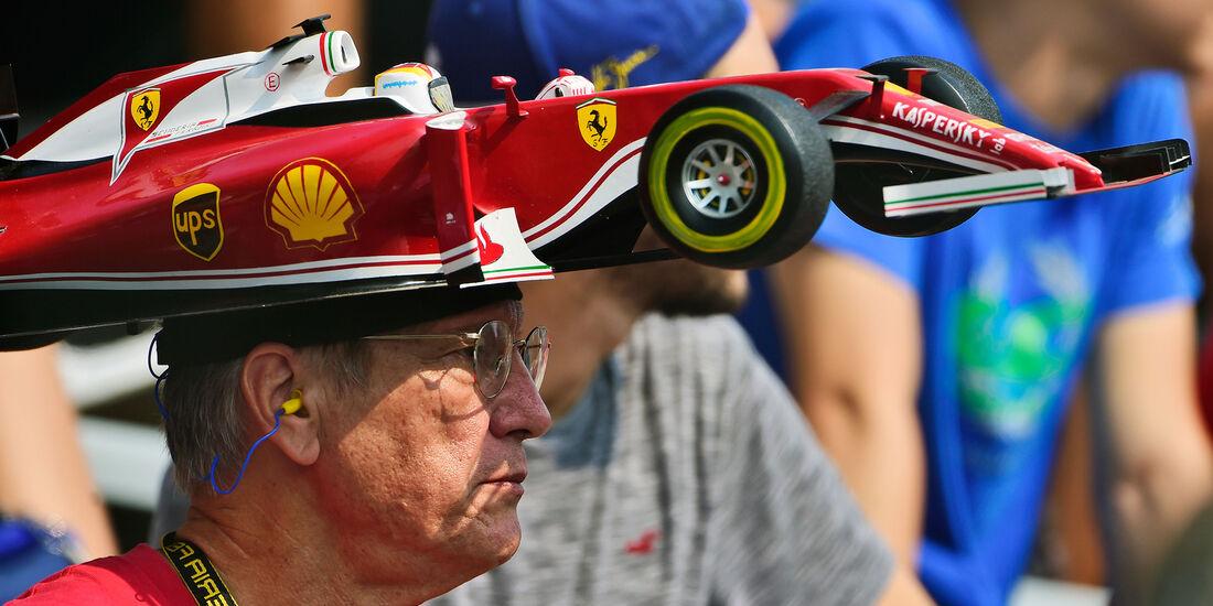 Ferrari-Fan - Formel 1 - GP Italien - Monza - 2. September 2016