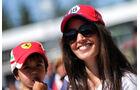 Ferrari-Fans - Formel 1 - GP Kanada - Montreal - 8. Juni 2017