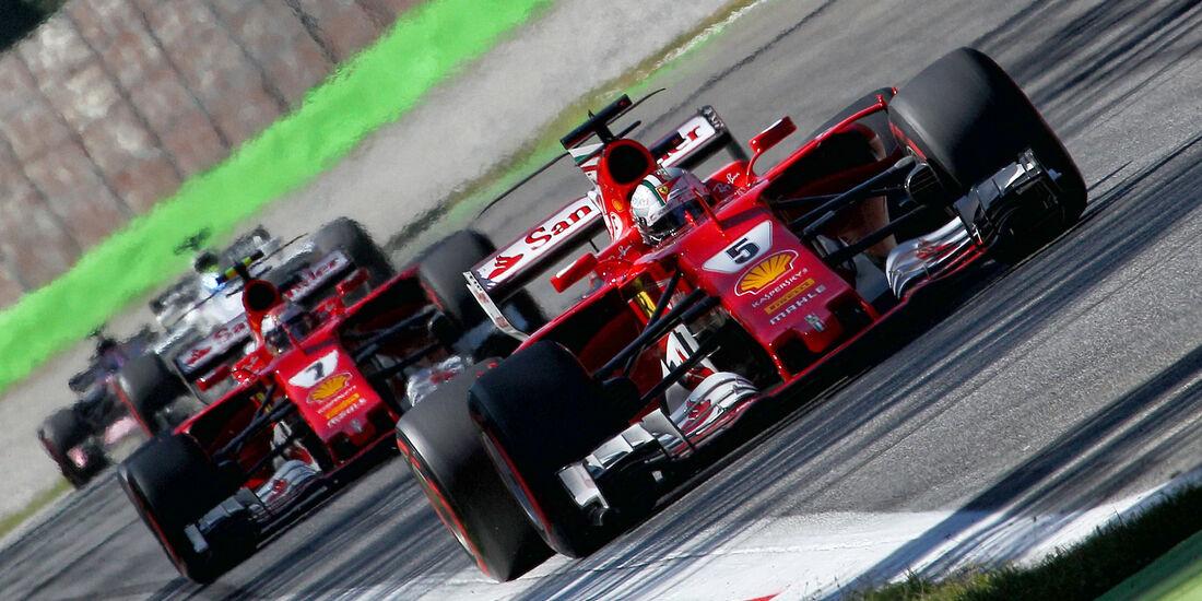 Ferrari - Formcheck - GP Italien 2017
