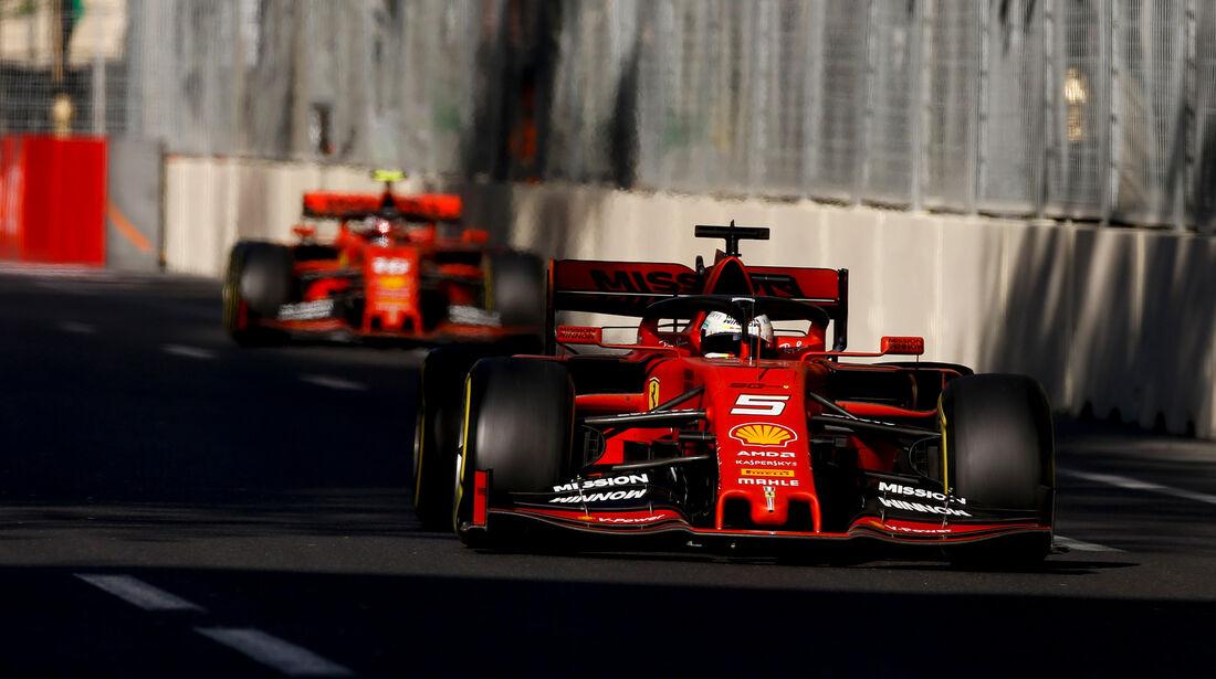 Ferrari - Formel 1 - GP Aserbaidschan 2019