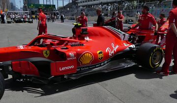 Ferrari - Formel 1 - GP Aserbaidschan - 27. April 2018