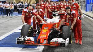 Ferrari - Formel 1 - GP Bahrain - 1. April 2016