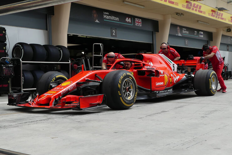 Ferrari - Formel 1 - GP Bahrain - 5. April 2018