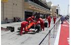 Ferrari - Formel 1 - GP Bahrain - Sakhir - Training - Freitag - 14.4.2017
