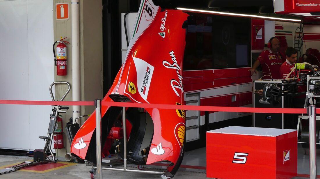 Ferrari - Formel 1 - GP Brasilien - 9. November 2017