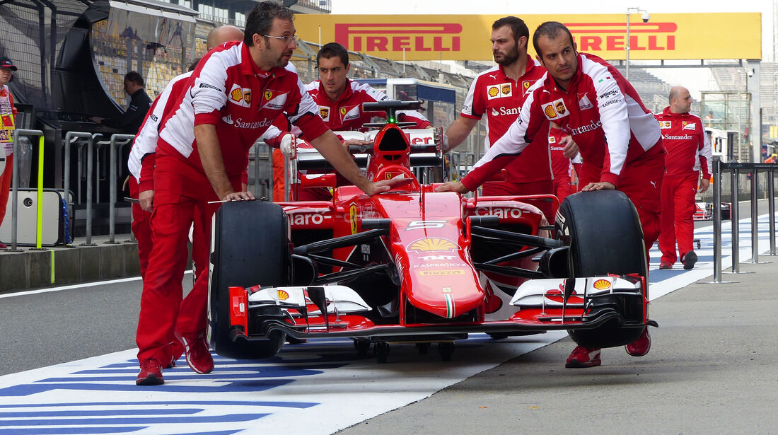 Ferrari - Formel 1 - GP China - Shanghai - 10. April 2015
