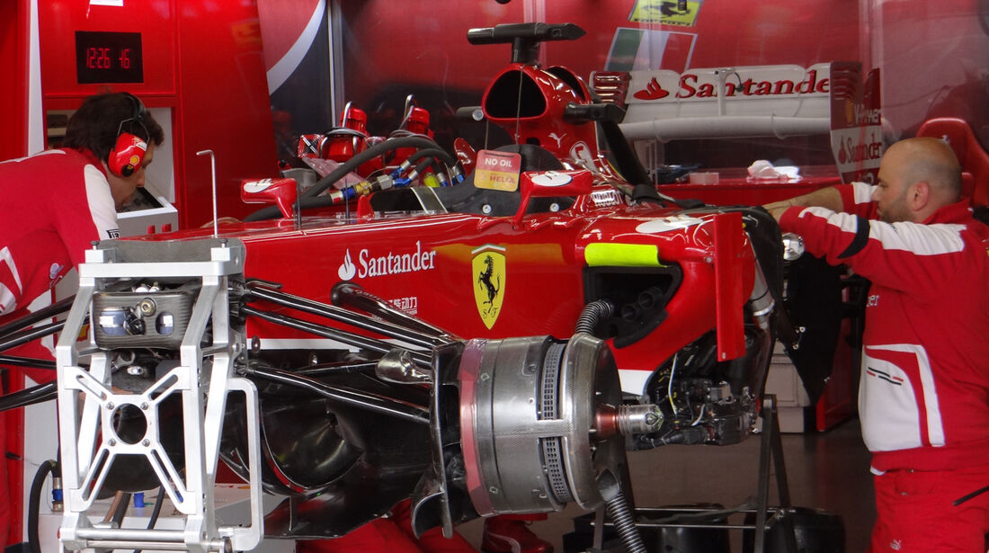 Ferrari - Formel 1 - GP Deuschland - 5. Juli 2013