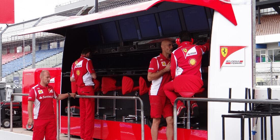 Ferrari - Formel 1 - GP Deutschland - 19. Juli 2012