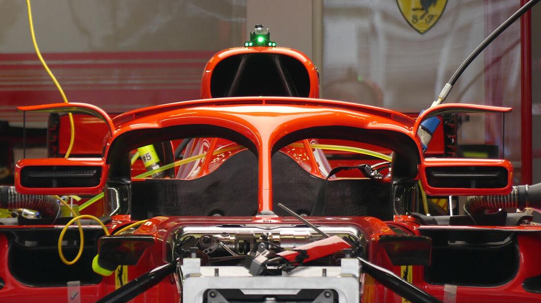 Ferrari - Formel 1 - GP Spanien - Barcelona - 10. Mai 2018