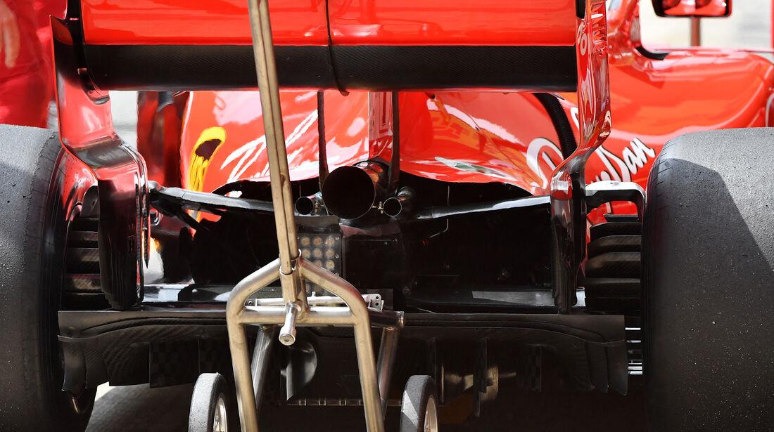 Ferrari - Formel 1 - GP Spanien - Barcelona - 12. Mai 2018