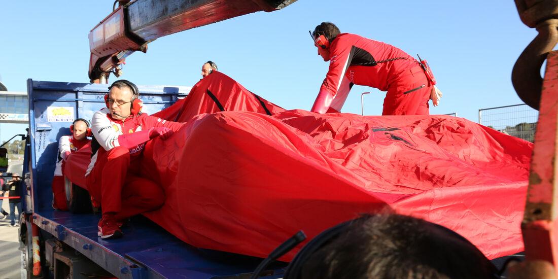 Ferrari - Formel 1 - Jerez-Test - 28. Januar 2014