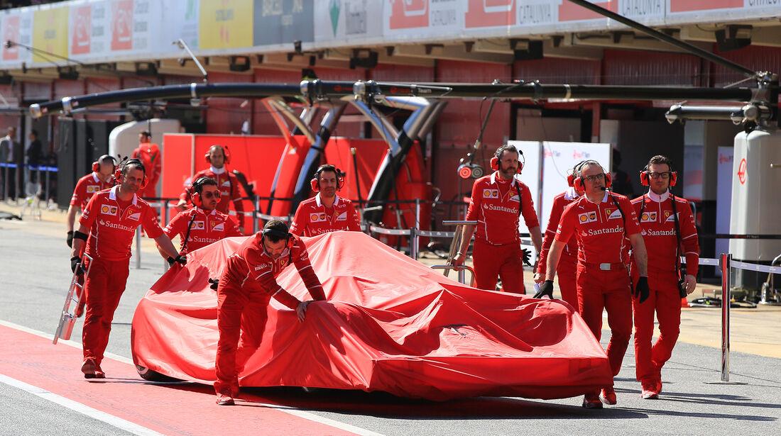 Ferrari - Formel 1 - Test - Barcelona - 9. März 2017