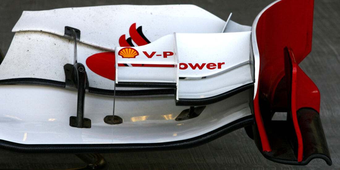 Ferrari-Frontflügel - GP Abu Dhabi - 10. November 2011