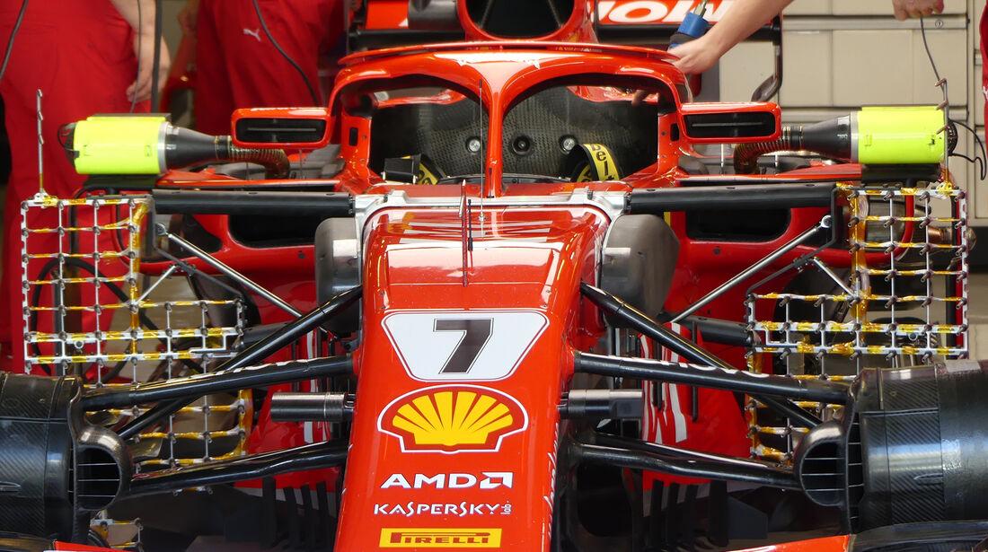 Ferrari - GP Abu Dhabi - Formel 1 - 23. November 2018