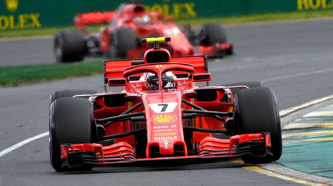 Ferrari - GP Australien 2018