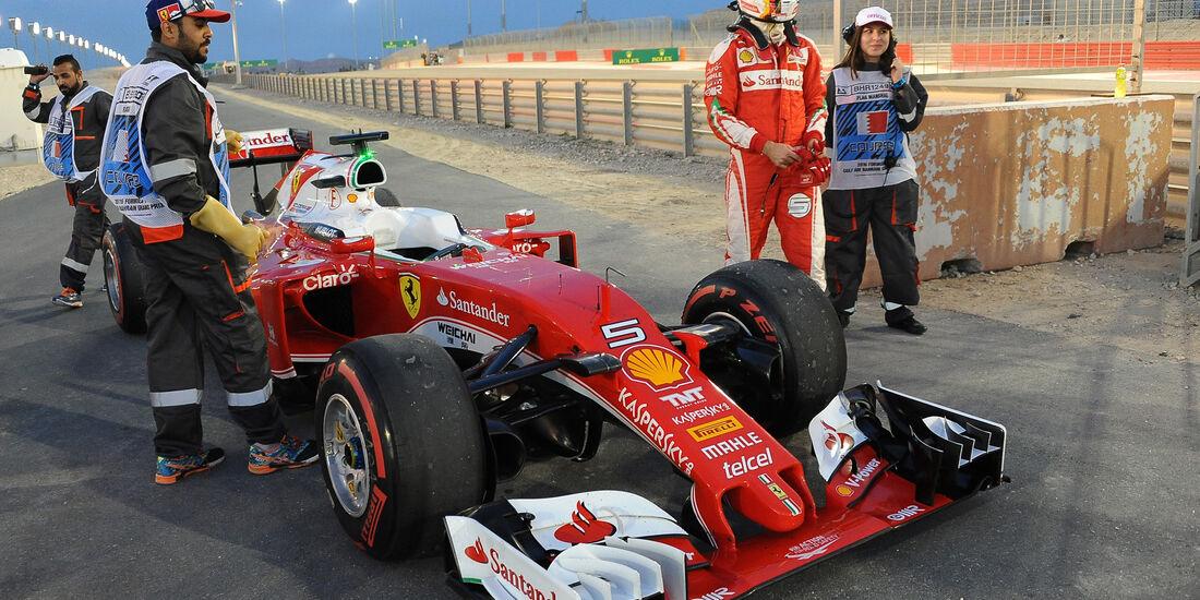 Ferrari - GP Bahrain 2016