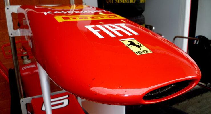 Ferrari - GP Belgien - 25. August 2012