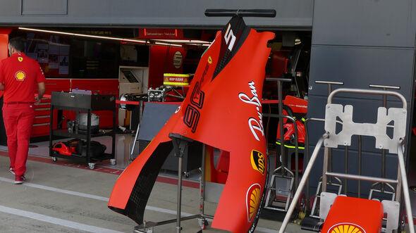 Ferrari - GP England - Silverstone - Donnerstag - 11.07.2019