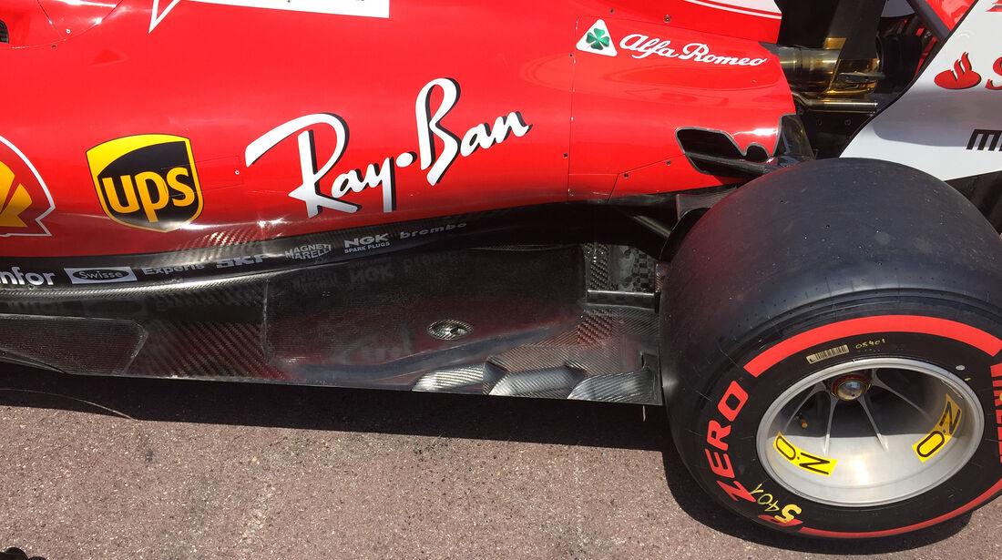 Ferrari - GP Monaco - Formel 1 - 14. Mai 2017