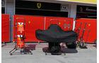 Ferrari - GP Ungarn - Budapest - Formel 1 - Mittwoch - 25.7.2018