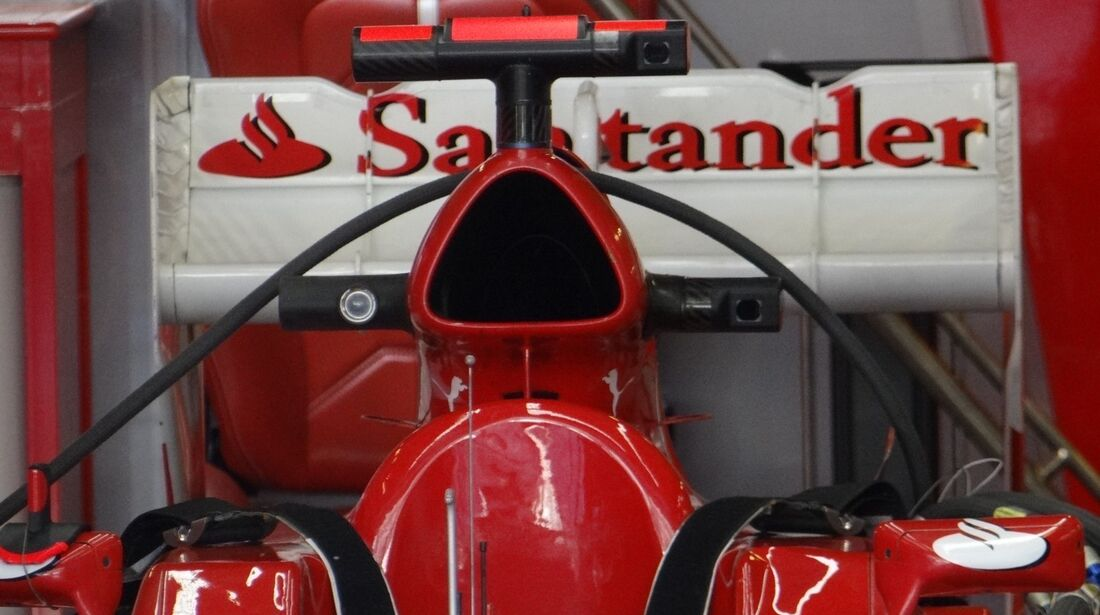 Ferrari Heckflügel Alonso - Formel 1 - GP Abu Dhabi - 01. November 2012
