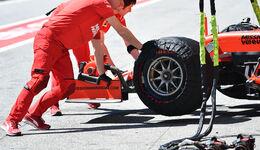 Ferrari - Heizdecken - F1 - 2019