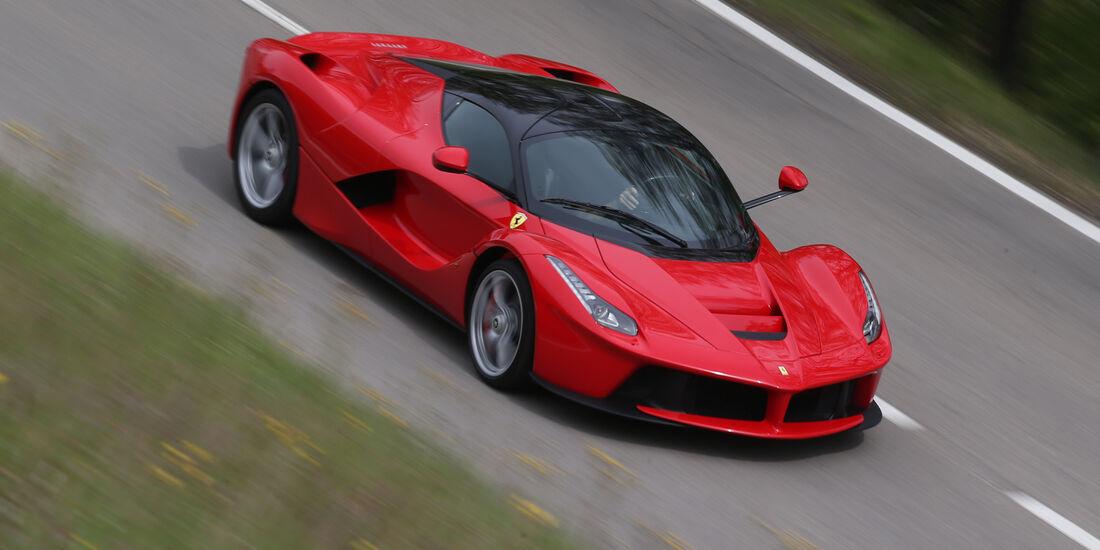 Ferrari LaFerrari, Frontansicht