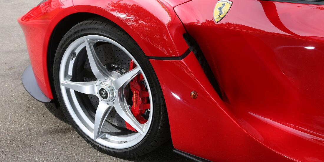 Ferrari LaFerrari, Rad, Felge