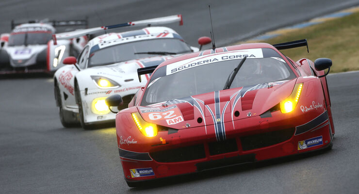 Ferrari - Le Mans-Vortest 2015