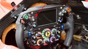 Ferrari-Lenkrad - Formel 1 - GP Japan 2017