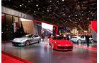 Ferrari: Messestand Pariser Autosalon 2018