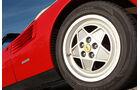 Ferrari Mondial T, Cabriolet 1992, Rad, Reifen, Detail