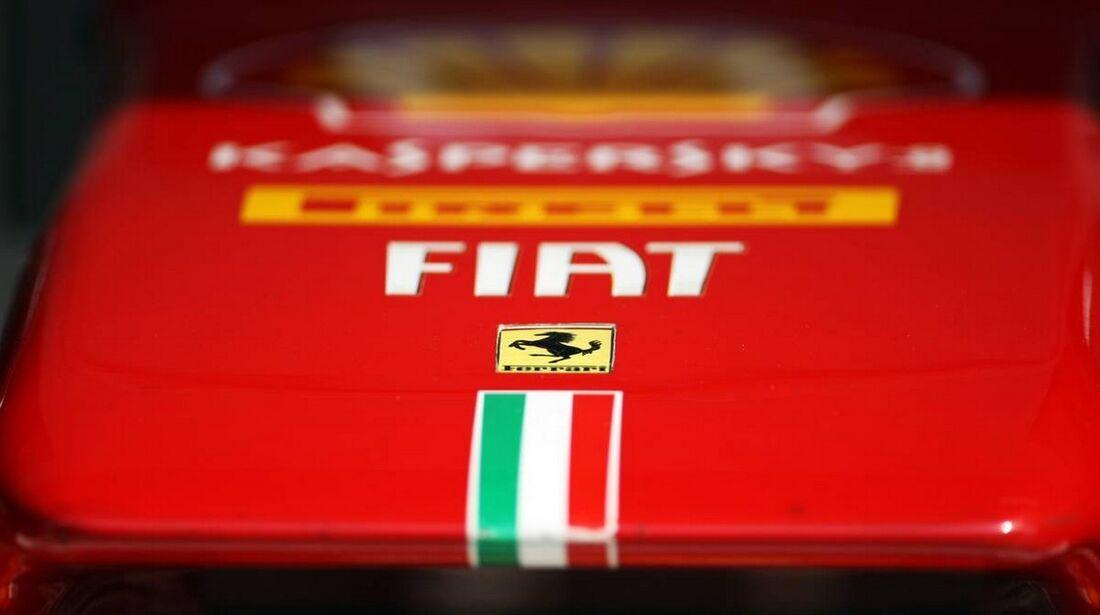 Ferrari Nase- Formel 1 - GP Indien - 25. Oktober 2012