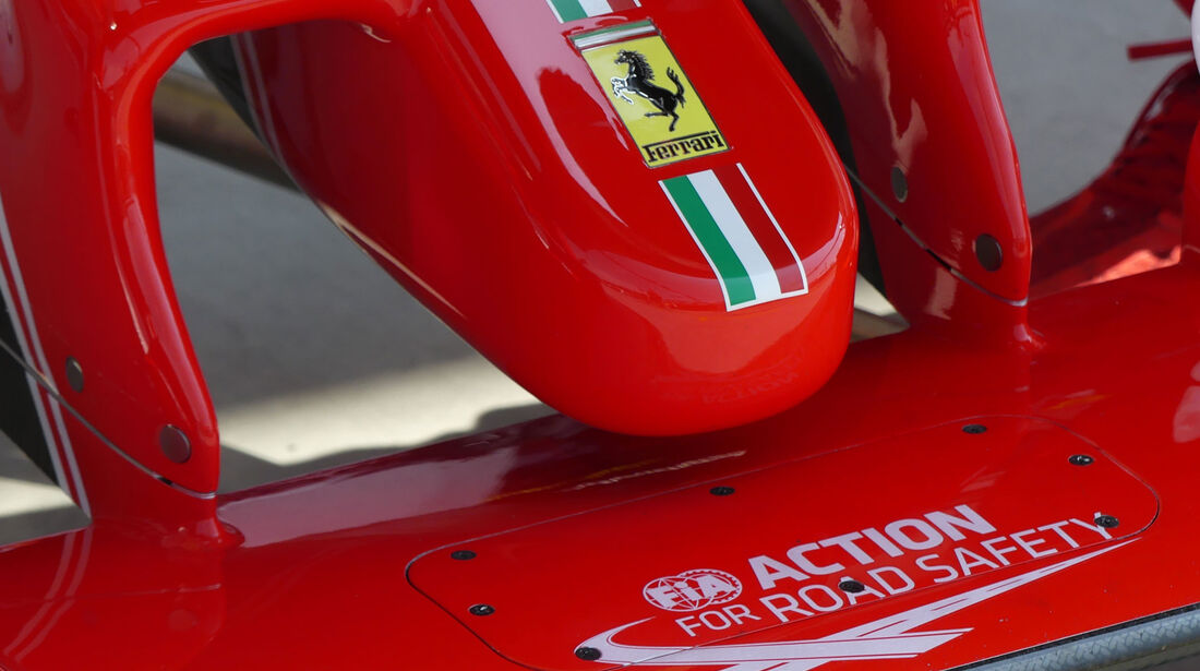 Ferrari Nase - Formel 1 - GP Ungarn - 23. Juli 2016