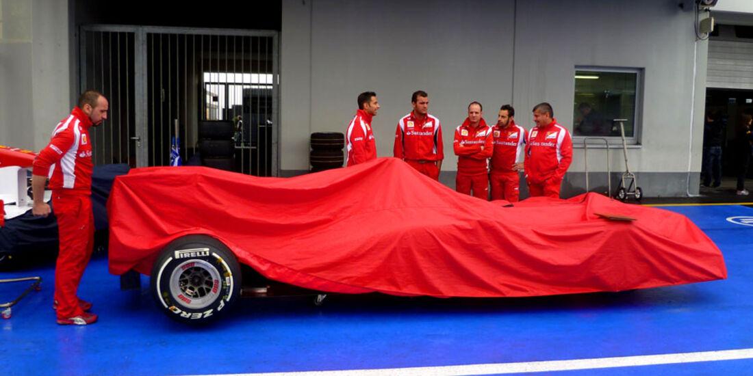 Ferrari - Nürburgring - GP Deutschland - 21. Juli 2011