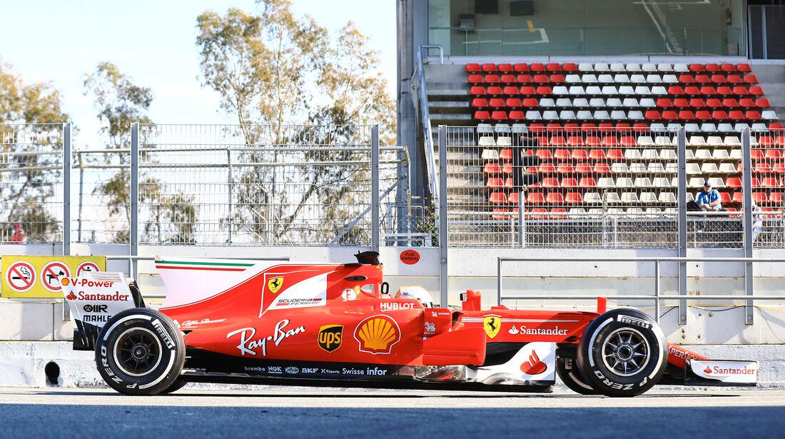 Ferrari - Profil - F1 - Barcelona Test 2017