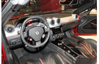Ferrari SA Aperta 599 Cabrio Paris 2010, Cockpit