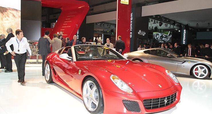 Ferrari SA Aperta 599 Cabrio Paris 2010