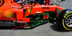 Ferrari - Technik - Formel 1 - GP Aserbaidschan 2019