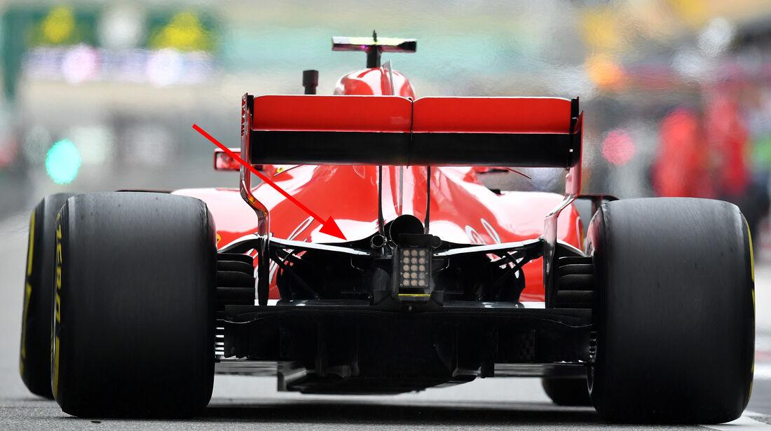 Ferrari - Technik - GP China / GP Bahrain - F1 2018