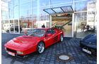 Ferrari Testarossa, Frontansicht