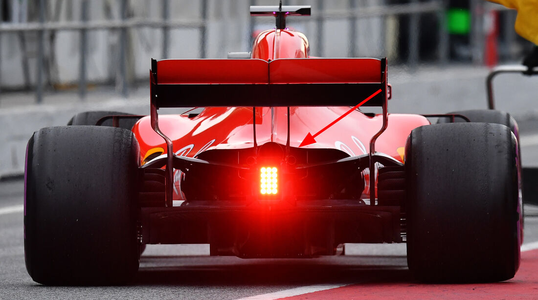 Ferrari - Upgrades - Formel 1 - Test - Barcelona - 2018